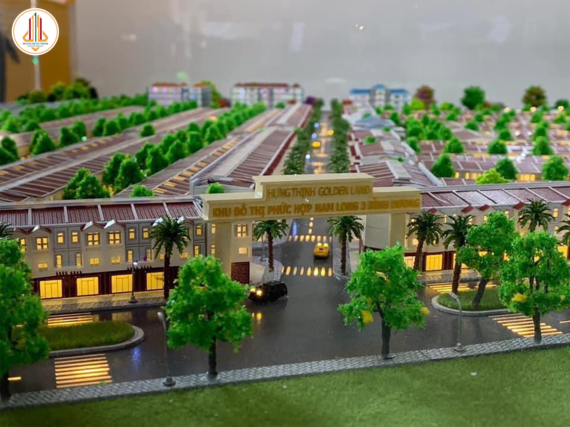 Khu đô thị phức hợp thương mại Hưng Thịnh Golden Land - Phối Cảnh