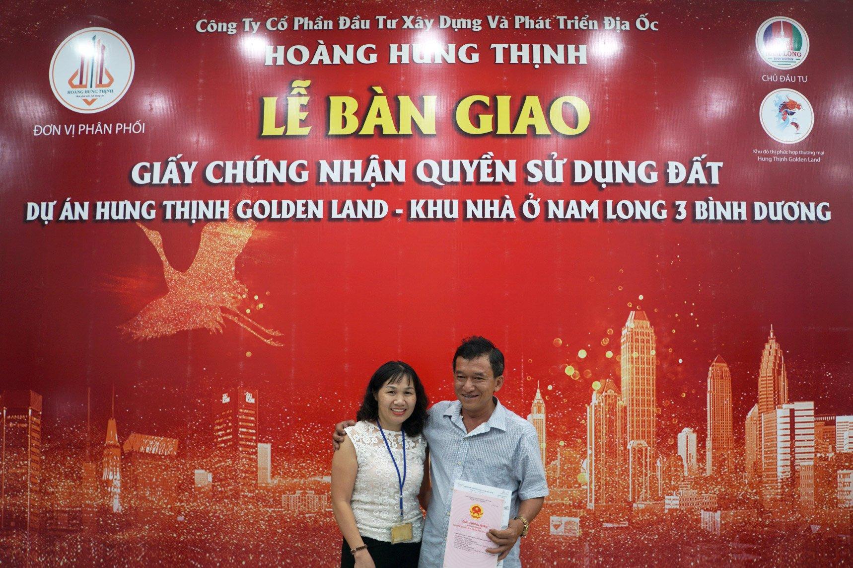Khu đô thị phức hợp thương mại Hưng Thịnh Golden Land